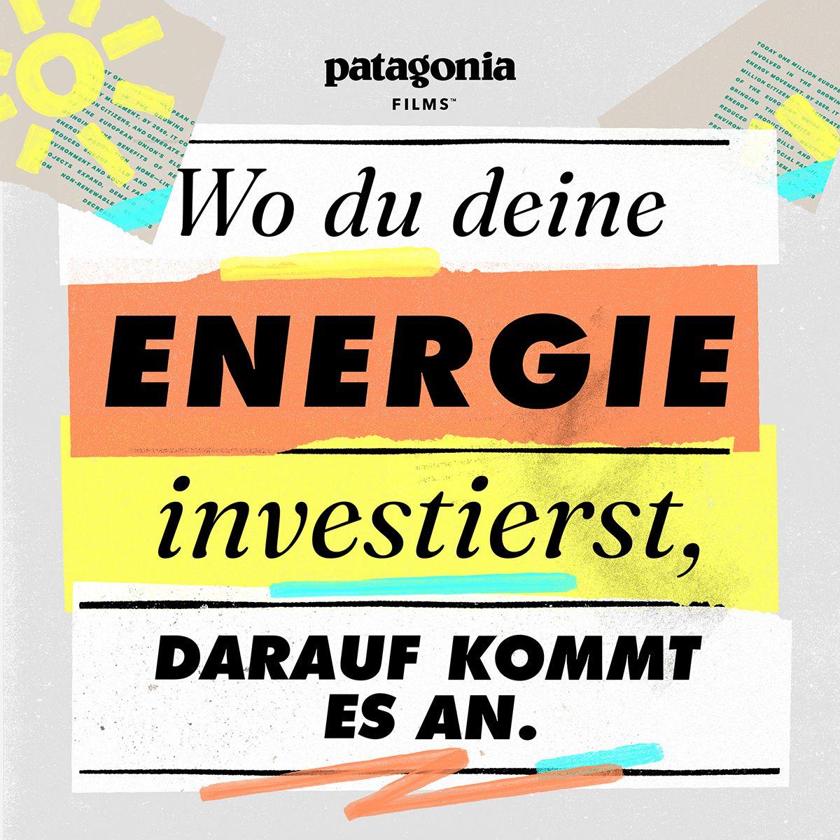 Wo du deine Energie investierst, darauf kommt es an